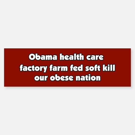 Obama Conspiracy Haiku Bumper Bumper Bumper Sticker