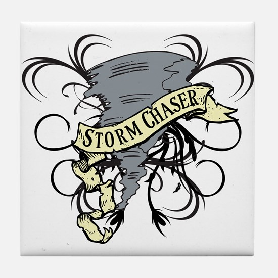 Storm Chasers Banner Tile Coaster
