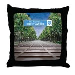 Riff It Avenue Throw Pillow