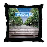 Riff It Avenue Throw Pillow