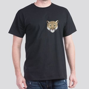 Beautiful Cougar Black T-Shirt