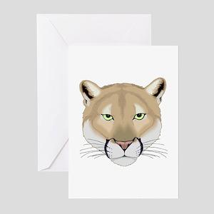 Beautiful Cougar Greeting Cards (Pk of 10)