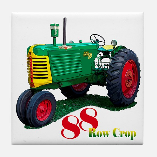 Farmers tractor Tile Coaster