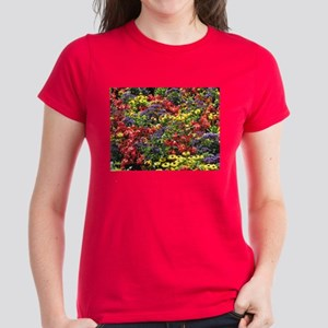 Helaine's Confetti Flowers Women's Dark T-Shirt