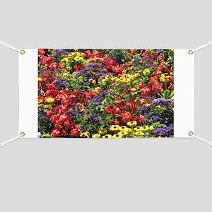 Helaine's Confetti Flowers Banner