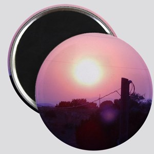 Smoky Sunset Magnet