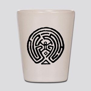 Westworld Maze Symbol Shot Glass