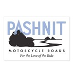 Pashnit Motorcycle Roads Postcards (Package of 8)