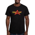 Rock Czar Men's Fitted T-Shirt (dark)