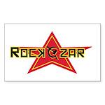Rock Czar Rectangle Sticker
