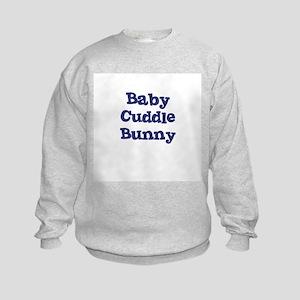 Baby Cuddle Bunny Kids Sweatshirt