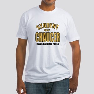 Chaucer Student Fitted T-Shirt