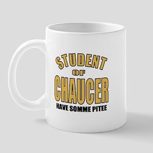 Chaucer Student Mug
