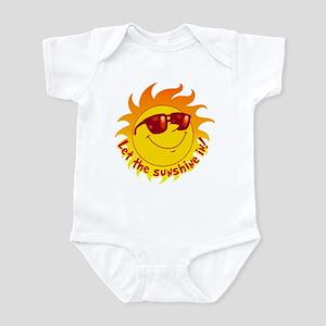 Let the Sunshine In Infant Bodysuit