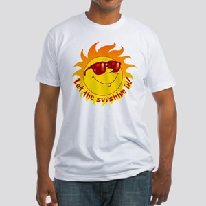 Let the Sunshine In Fitted T-Shirt