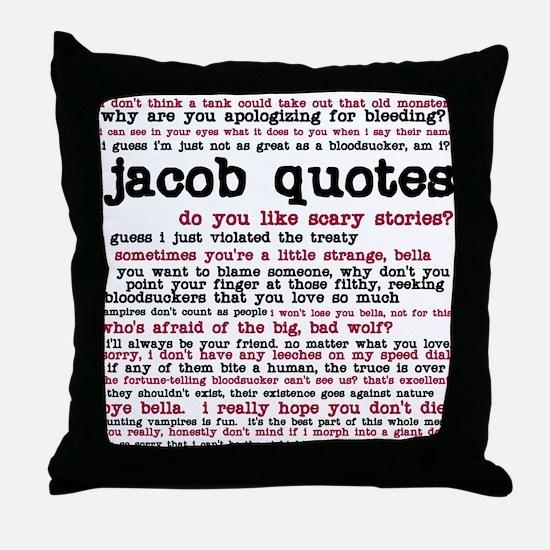 Unique Stephenie meyer Throw Pillow