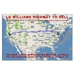 LG Williams Highway To Hell Poster (2005)