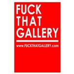 FUCKTHATGALLERY Poster