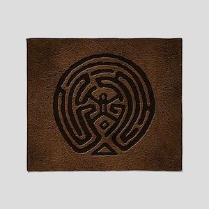 Westworld Maze Symbol Throw Blanket