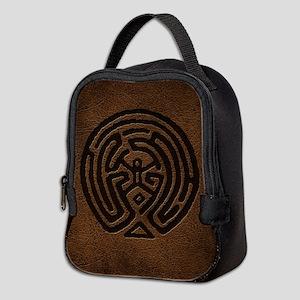 Westworld Maze Symbol Neoprene Lunch Bag