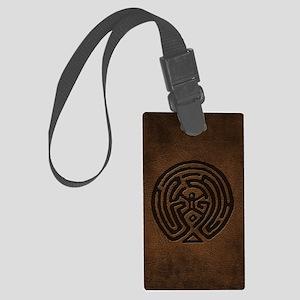Westworld Maze Symbol Luggage Tag