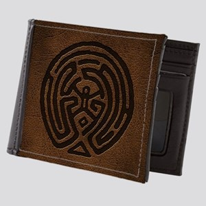 Westworld Maze Symbol Mens Wallet