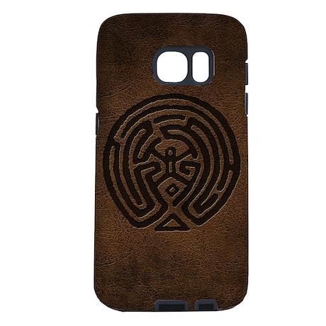 Westworld Maze Symbol Samsung Galaxy S7 Case By Movieandtvtees