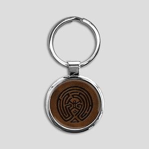 Westworld Maze Symbol Keychains