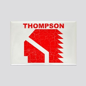 Thompson High Warriors Rectangle Magnet