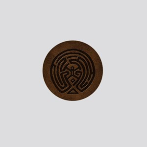 Westworld Maze Symbol Mini Button
