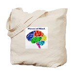 Pieces of Mind Tote Bag