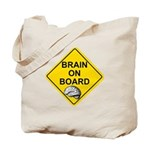 Brain on Board Tote Bag