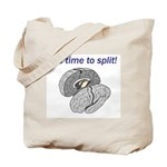 Split Brain Tote Bag