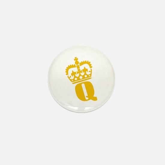 Q - character - name Mini Button