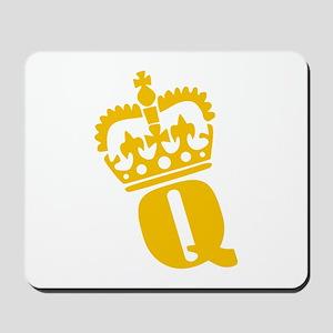 Q - character - name Mousepad