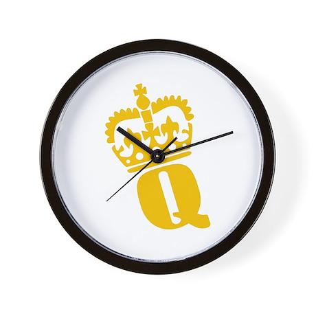 Q - character - name Wall Clock