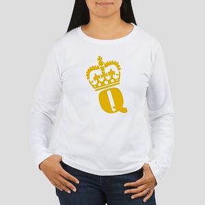 Q - character - name Women's Long Sleeve T-Shirt