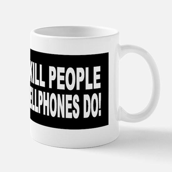 Guns Don't Kill People... Mug