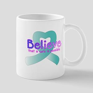 Believe, Cervical and Ovarian Mug