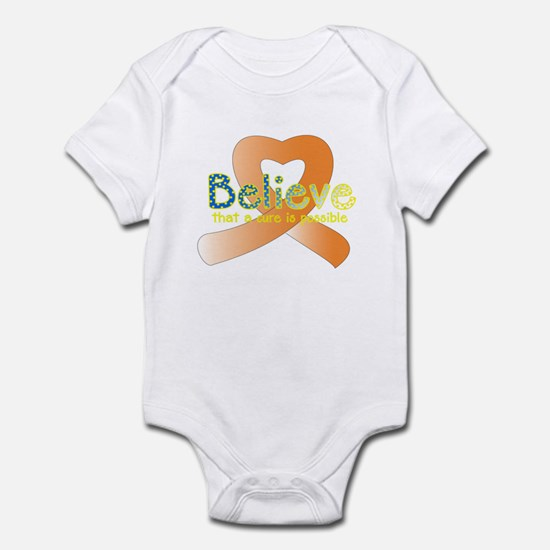 Believe, Leukemia Infant Bodysuit