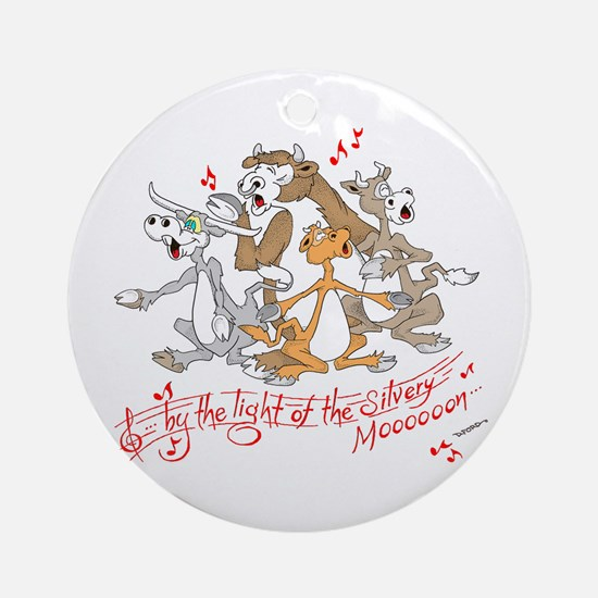 ... of the silvery moooon. Ornament (Round)