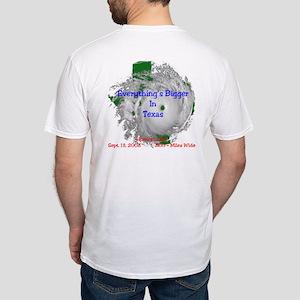 Ike: I Hunkered Down / 2 side Fitted T-Shirt