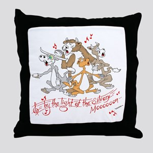 ... of the silvery moooon. Throw Pillow