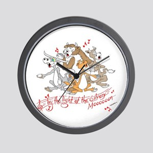 ... of the silvery moooon. Wall Clock