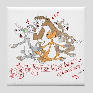 ... of the silvery moooon. Tile Coaster
