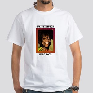 whitty huton White T-Shirt