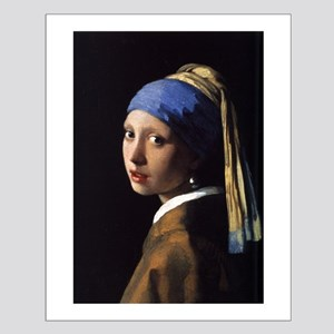 The Girl with the Pearl Earri Small Poster