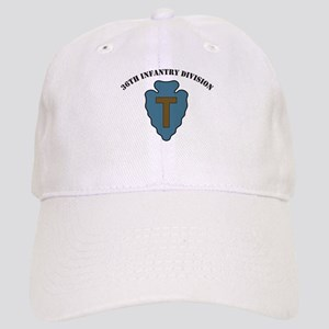 36th Infantry Division with text Cap