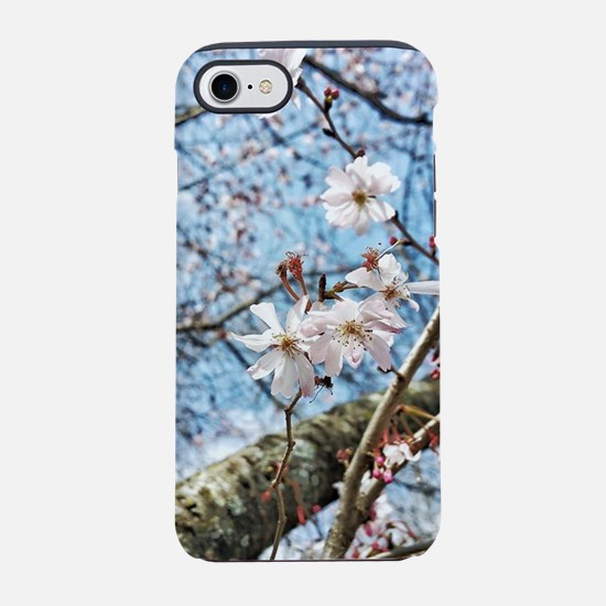 Cherry Blossoms and Blue Sky iPhone 7 Tough Case