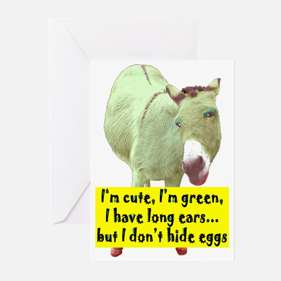CUTE, LONG EARS Greeting Cards (Pk of 10)
